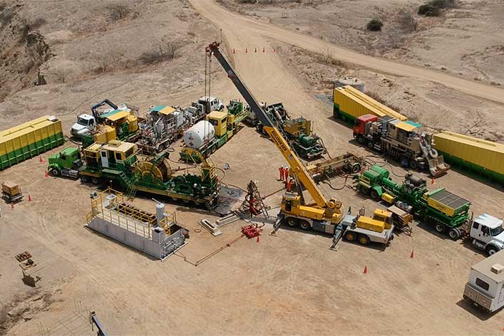 CPVEN Peru succesfully puts the Coiled Tubing and Hydraulic Fracking service into practice